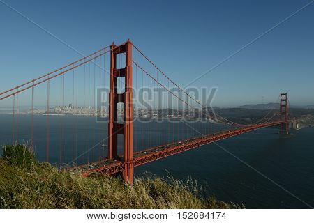 Golden Gate and its history - This is the bridge of San Francisco, who many people know as the Golden Gate Bridge. It was built at the beginning of the last century. Few believed that the bridge will hold and able to withstand the fierce winds and strong