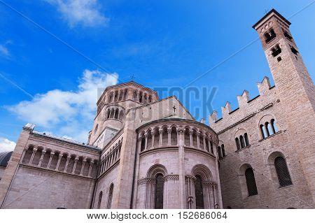 Cattedrale di San Vigilio (St. Vigilio Cathedral 1321) in Trento Trentino Alto Adige Italy Europe