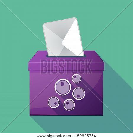 Long Shadow Ballot Box With Oocytes
