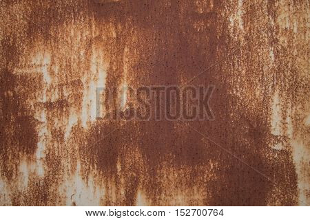 Rust old dirty grungy brown texture background.