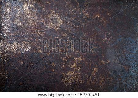 Old Metal Sheet as Background