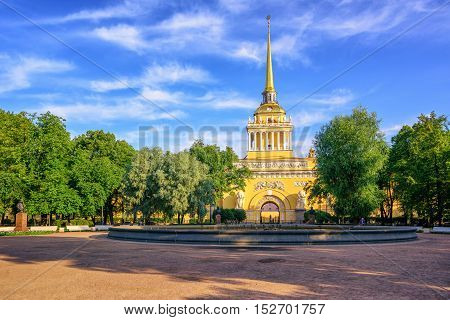 Admiralty Building, St Petersburg, Russia