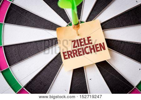 Achieve Goals (in German)