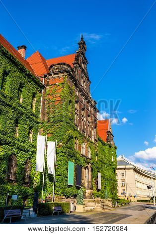 The National museum in Wroclaw - Poland, Lower Silesia