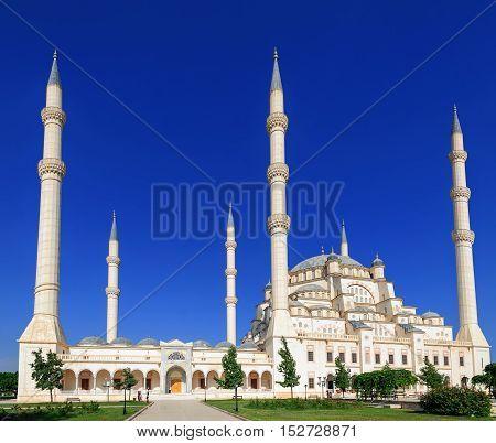 Sabanci Mosque In Adana, Turkey