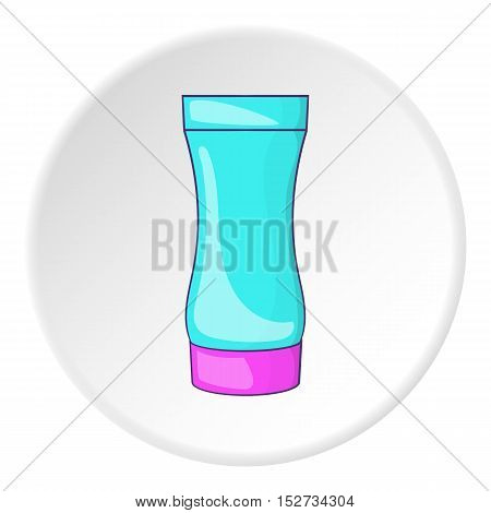 After shave gel icon. Cartoon illustration of after shave gel vector icon for web