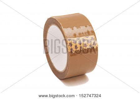 roll of duct tape isolated on a white background
