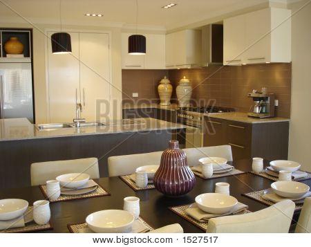Open Plan Kitchen Dining