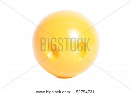 Bowling ball isolated on a white background