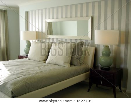 Pale Blue Bedroom
