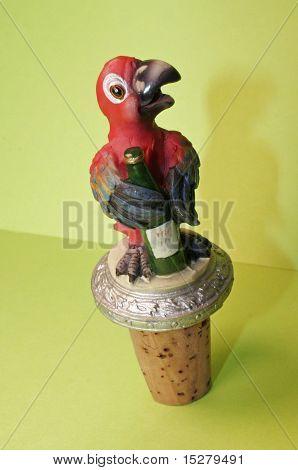Parrot Wine Stopper