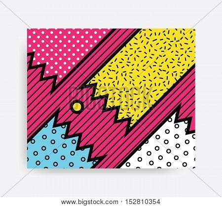 Colorful Pop Art Pattern
