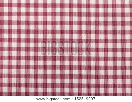 Print fabric. Plaid material. Abstract hand drawing pattern fabric texture square red.