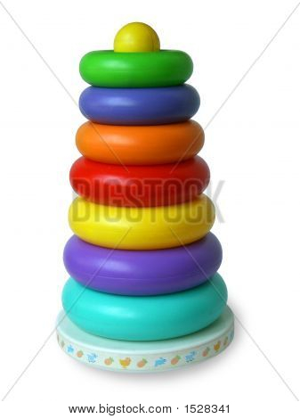 Colour Children'S Pyramid