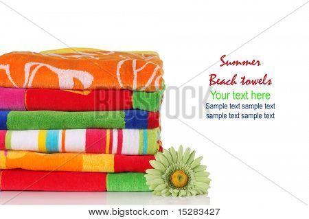 Summer beach towels.