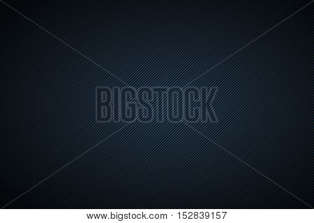 Black and blue abstract background with diagonal lines vector illustration