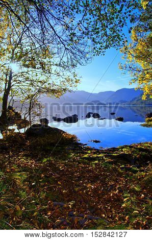 Sanabria Lake is a natural area located in the northwest corner of the province of Zamora