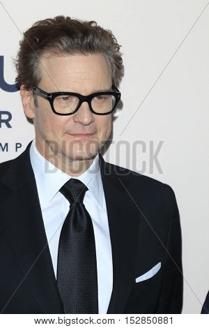 LOS ANGELES - OCT 20:  Colin Firth at the