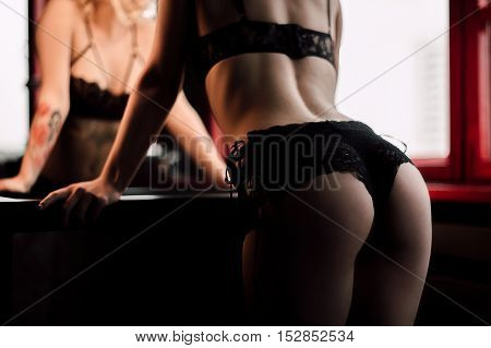 Beautiful Female Body Part. Sexy Female Buttocks . Beautiful Female Slim Body.beauty Part Of Female