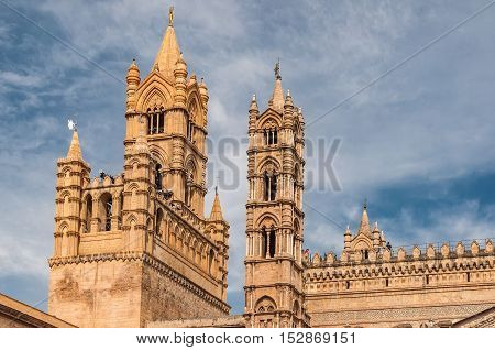 Palermo Cathedral is the cathedral church of the Roman Catholic Archdiocese of Palermo located in Palermo Sicily Italy. The church was erected in 1185 by Walter Ophamil.