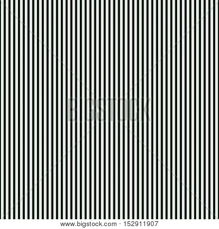 Abstract black and white background of vertical straight lines