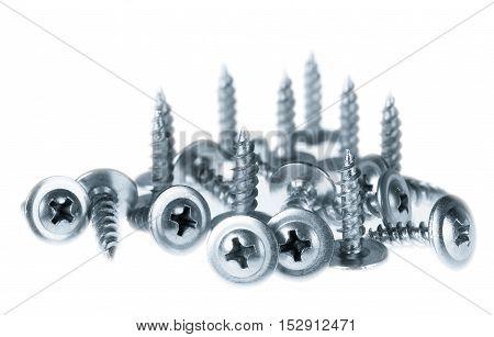 Many Silver Screws Toned Grey