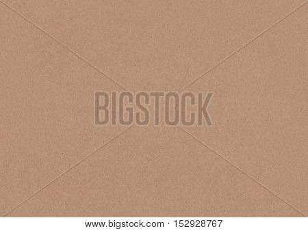 Kraft Paper texture high resolution. Recycled brown paper