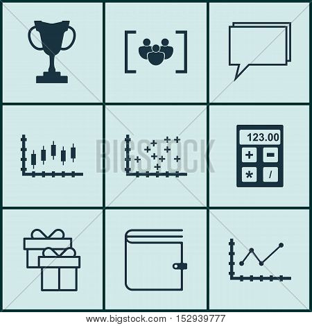 Set Of 9 Universal Editable Icons For Traveling, Human Resources And Management Topics. Includes Ico