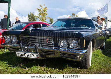 KRONSTADT, RUSSIA - SEPTEMBER 04, 2016: American car