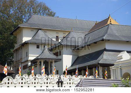 The old Royal Palace. Kandy, Sri Lanka