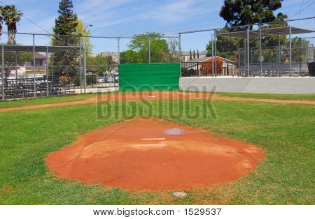 Little League Baseball Field