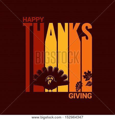 Thanksgiving turkey celebration abstract background 8 eps