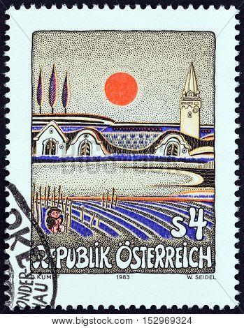 AUSTRIA - CIRCA 1983: A stamp printed in Austria from the