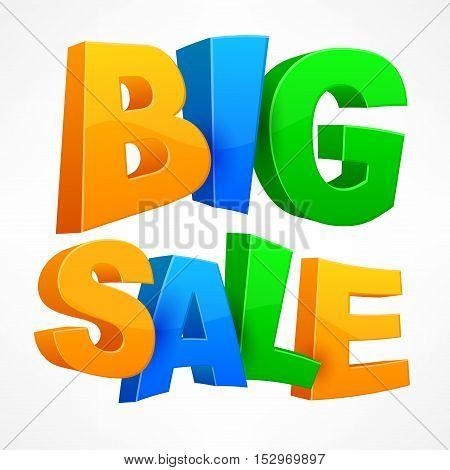 Big Sale Inscription