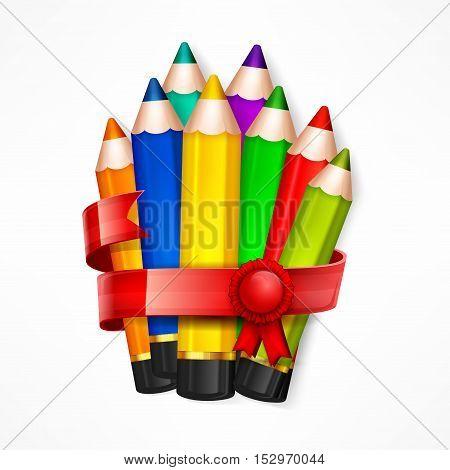 Pencil Set & Ribbon