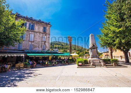 Sartene, Corsica, France, Europe.