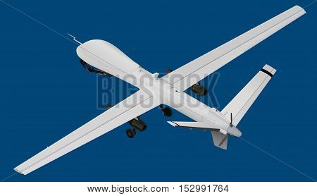 Uav Isometric Vector Illustration