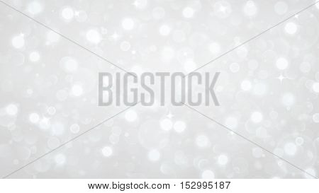 Abstract Background With Bokeh Effect In White