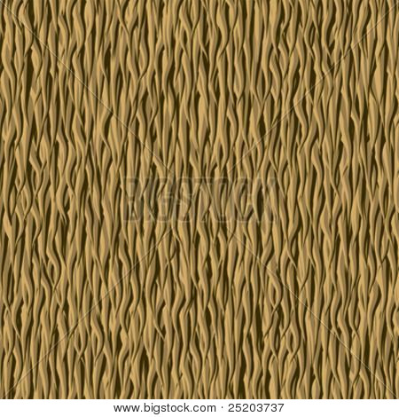 Fur, rough wool. Vector seamless wallpaper. Color easy for change