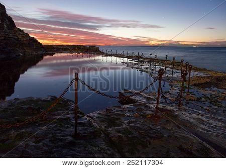 Bogie Hole - Newcastle Australia At Sunrise