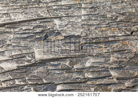 Seamless Stone Texture In A Mountain Gorge. Photo Shows A Stone Texture. The Texture Of The Stone, I