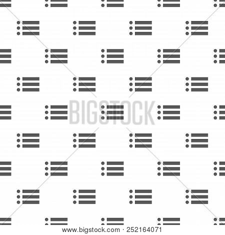 List Pattern Seamless. Repeat Illustration Of List Pattern  Geometric For Any Web Design