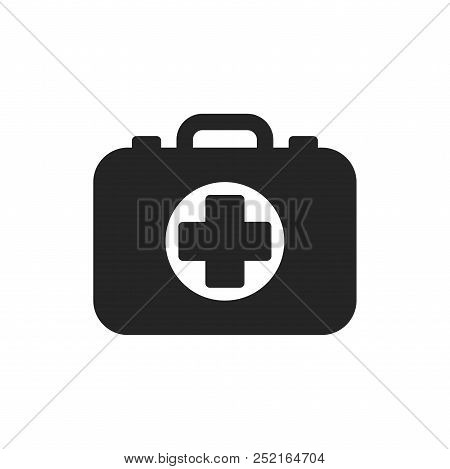 Medical Kit Icon Isolated On White Background. Medical Kit Icon Modern Symbol For Graphic And Web De