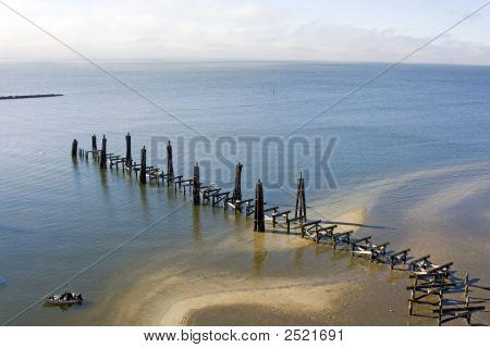 Hurricane Katrina Vs. Fishing Pier
