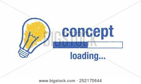 "Text ""concept Loading"