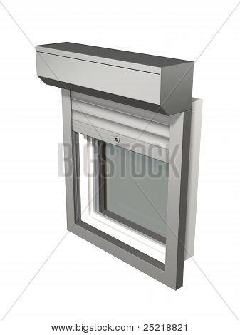 window shutter system construction