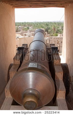 Close Up Cannon