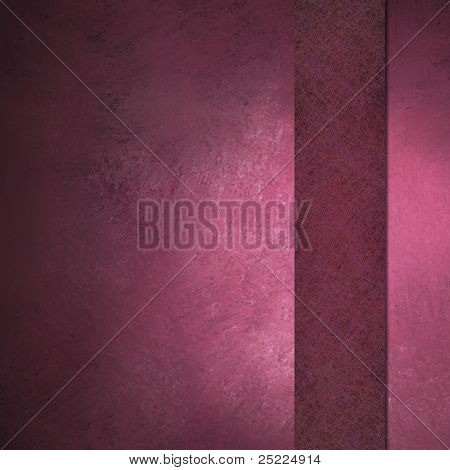 Pink Background with Ribbon