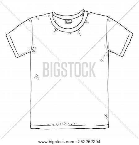 Vector Single Sketch Illustration - T Shirt