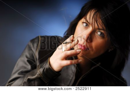 A Smoking Woman